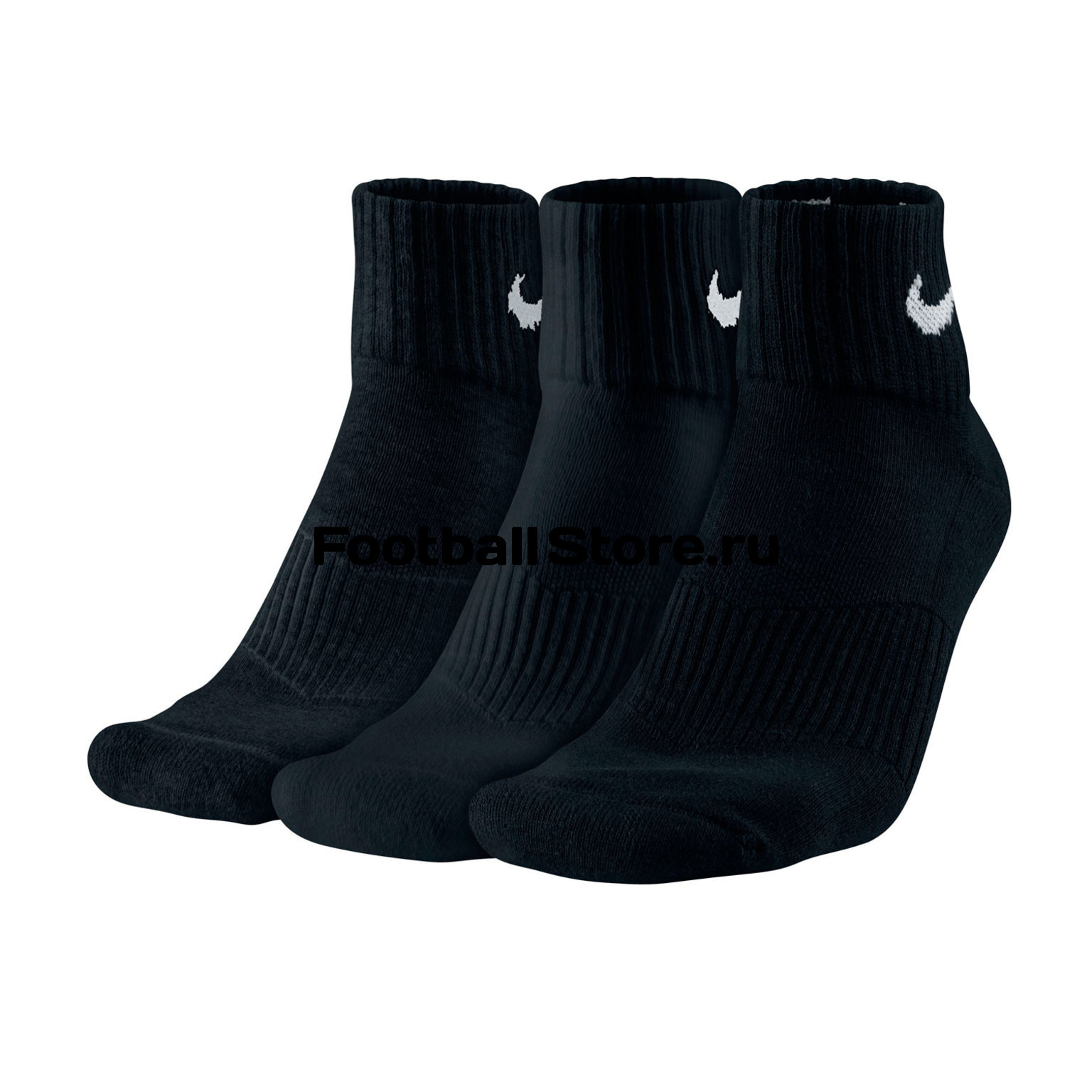 Комплект носков Nike 3PPK Cushion Quarter SX4703-001 комплект носков nike 3ppk lightweight quarter