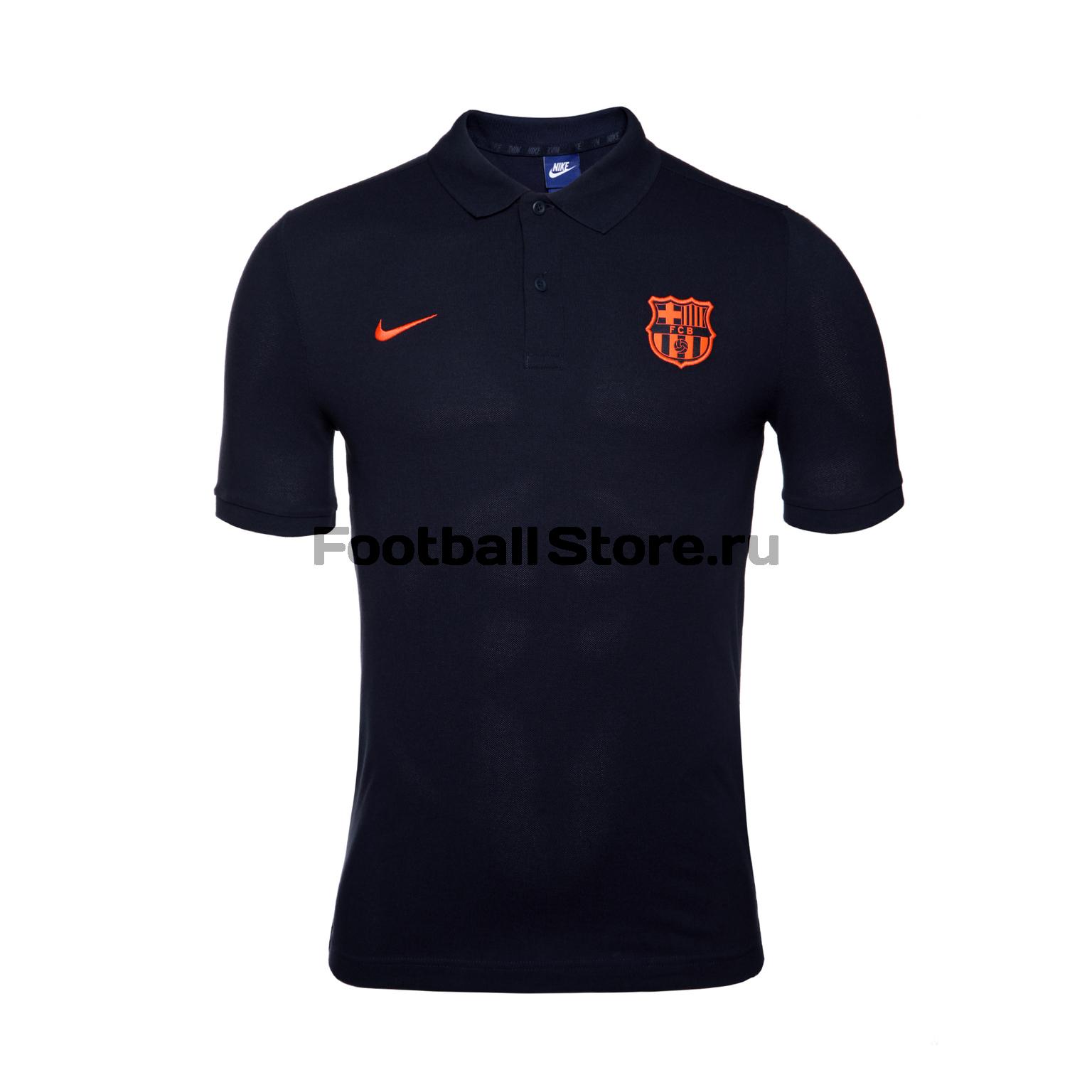 Поло Nike Barcelona Polo 886781-451 tryp barcelona condal mar hotel 4 барселона