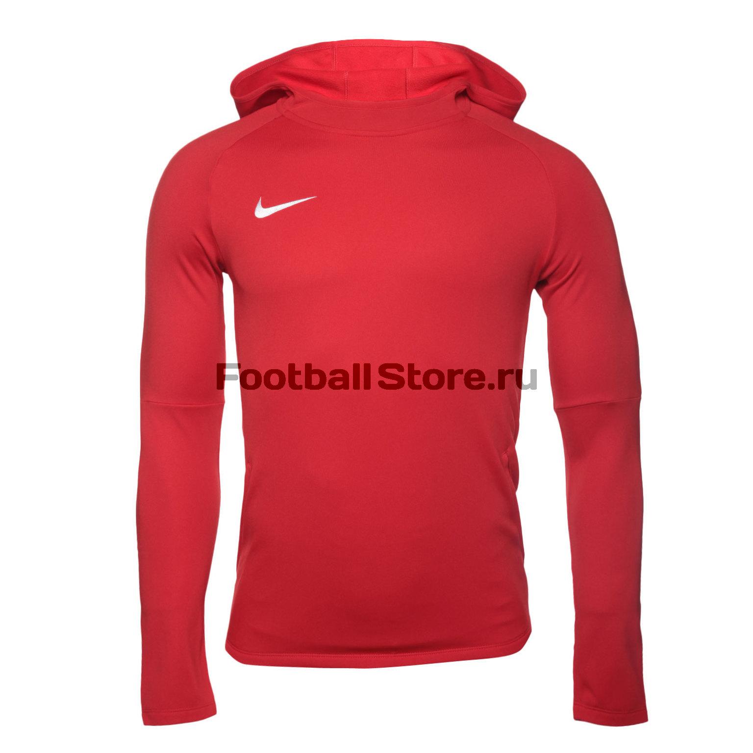Толстовка Nike Dry Academy18 Hoodie PO AH9608-657 костюм спортивный nike dry academy 18 football tracksuit 893709 657 красн черн