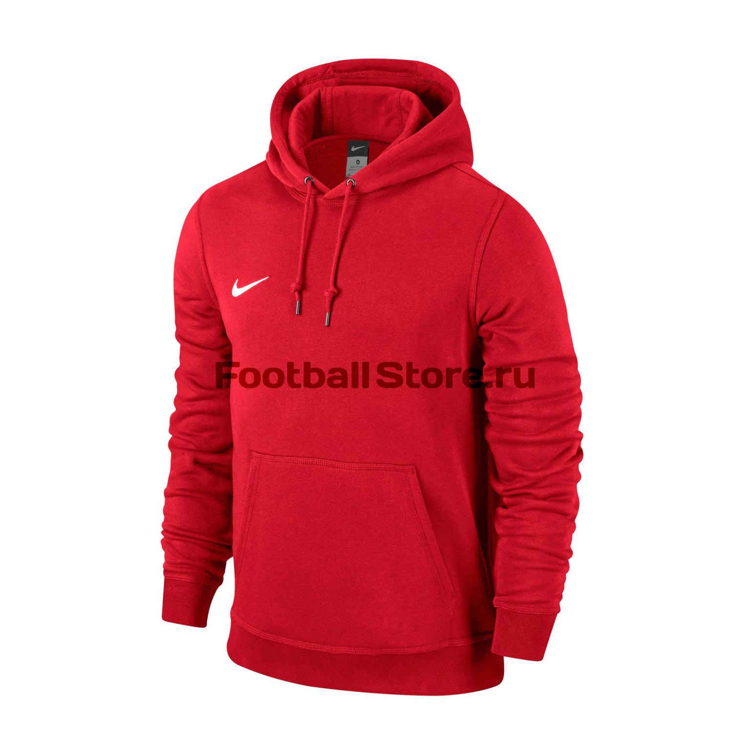 Тренировочная форма Nike Толстовка подростковая Nike YTH Team Club Hoody 658500-657