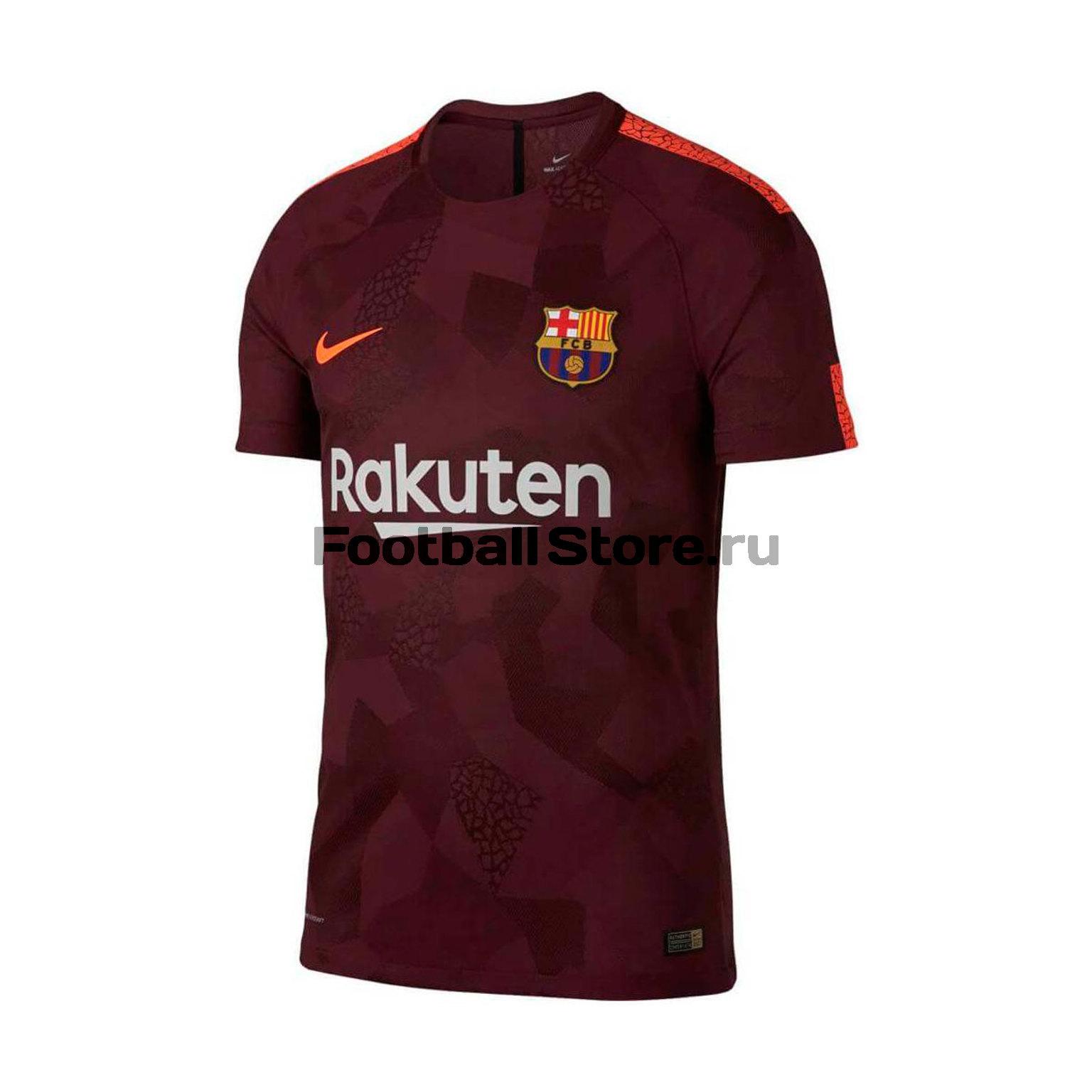 Оригинальная футболка Nike Barcelona 847188-683 barcelona nike брюки тренировочные nike barcelona aa1935 036