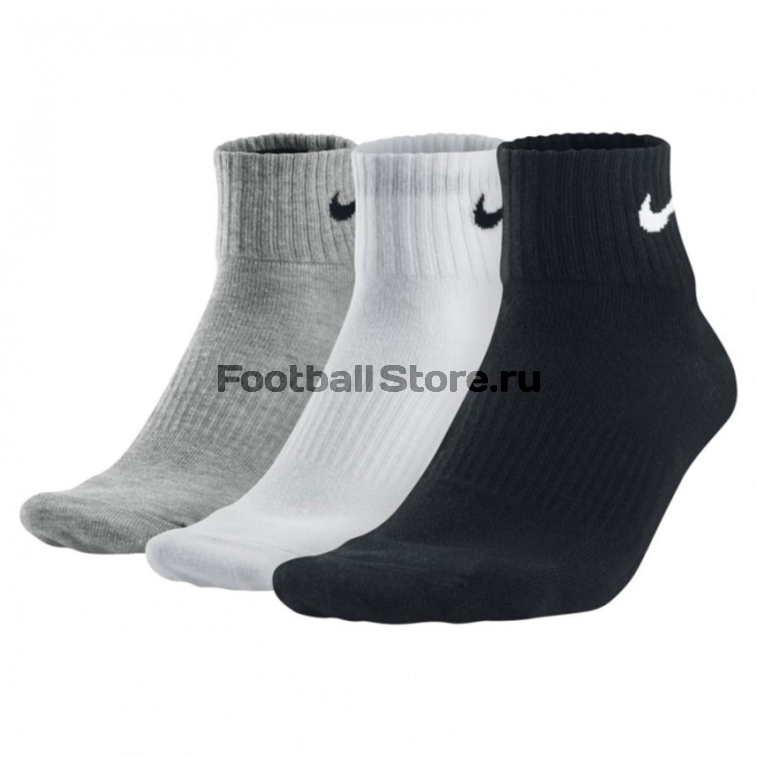 Носки Nike Носки короткие Nike (3 пары в Комплекте) SX3808-965