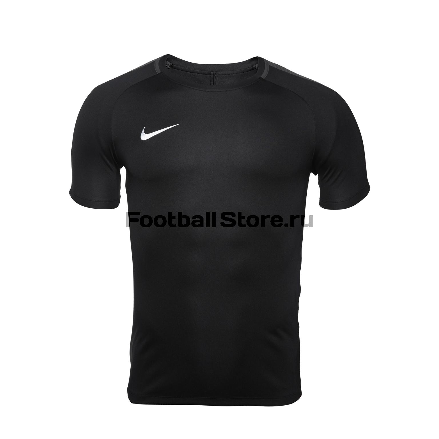 Футболки Nike Футболка тренировочная Nike Dry Academy18 Top SS 893693-010 игровая форма nike футболка детская nike ss precision iii jsy boys 645918 410