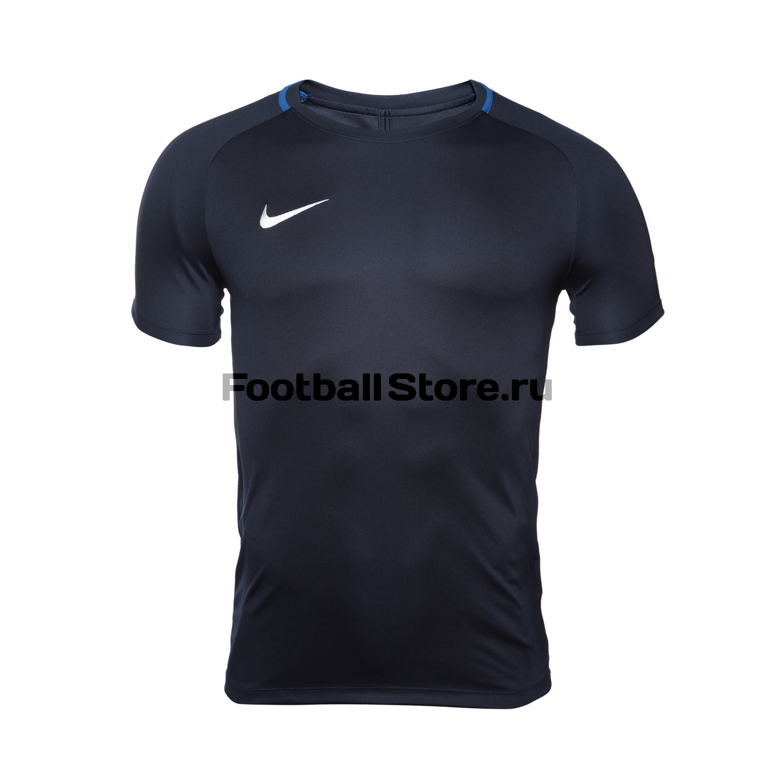Футболка тренировочная Nike Dry Academy18 Top SS 893693-451 футболка хлопковая nike tee club19 ss aj1504 451