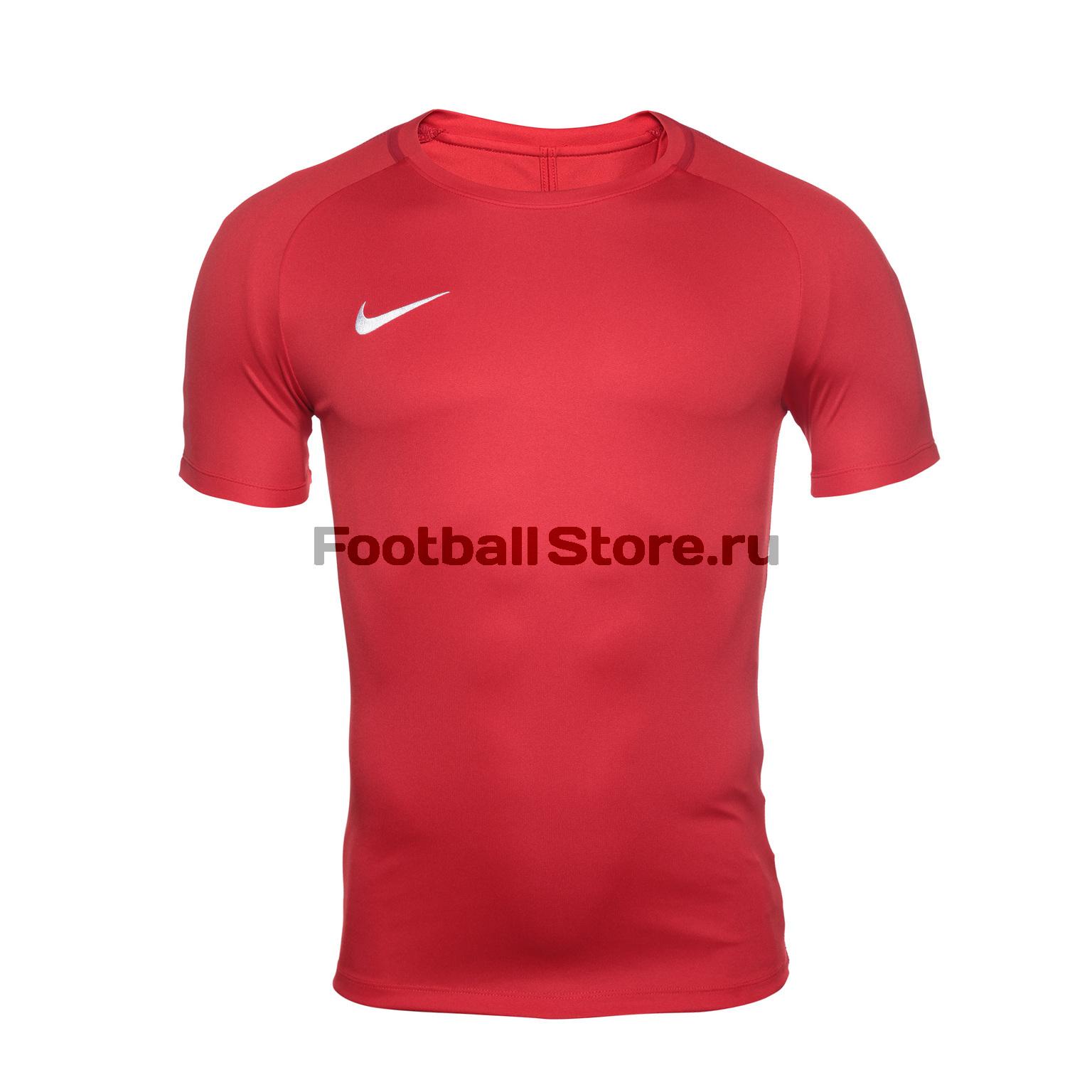 Футболки Nike Футболка тренировочная Nike Dry Academy18 Top SS 893693-657 игровая форма nike футболка детская nike ss precision iii jsy boys 645918 410