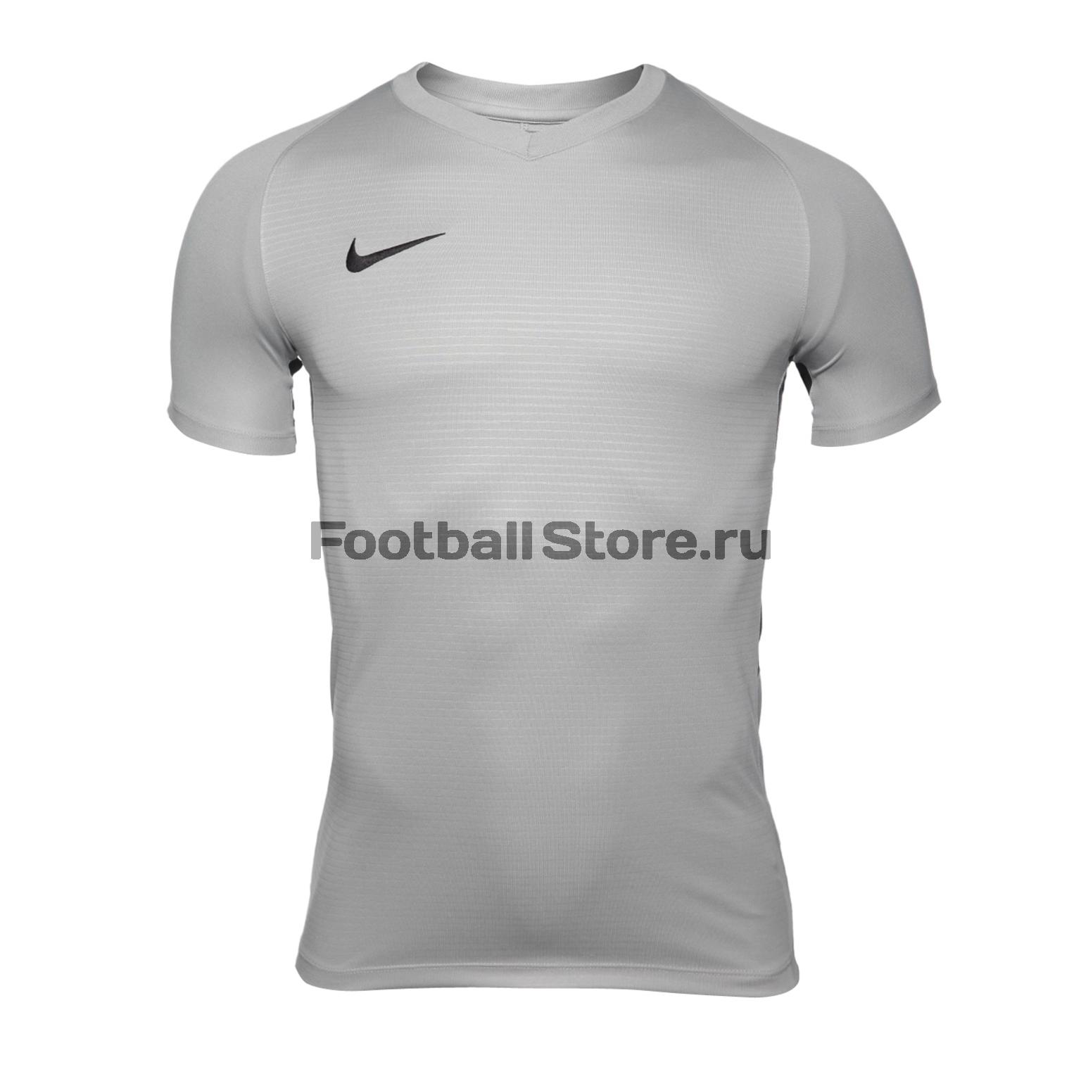 Футболка игровая Nike Dry Tiempo Prem JSY SS 894230-057 nike футболка игровая nike m nk dry acdmy top ss gx 832985 452
