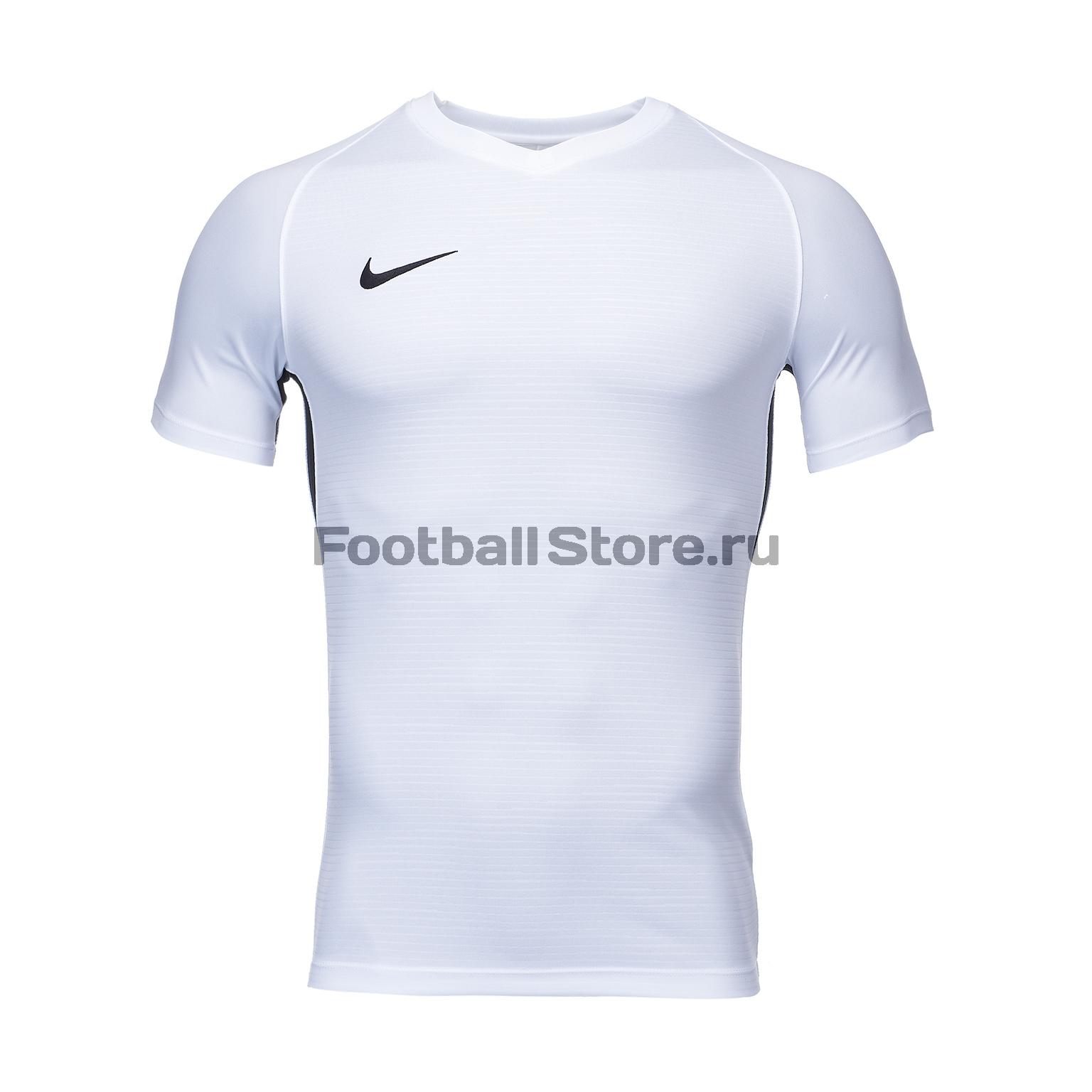 Футболка игровая Nike Dry Tiempo Prem JSY SS 894230-100 nike футболка игровая nike m nk dry acdmy top ss gx 832985 452