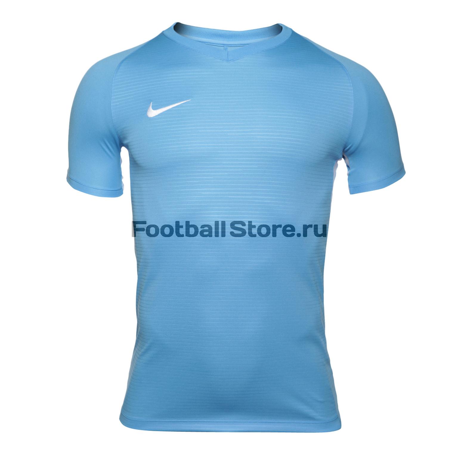 Футболка игровая Nike Dry Tiempo Prem JSY SS 894230-412 футболка игровая nike dry tiempo prem jsy ss 894230 662