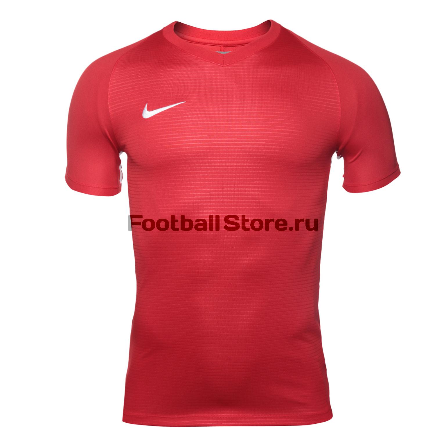 Футболка игровая Nike Dry Tiempo Prem JSY SS 894230-657 nike футболка zenit ss h a stadium jsy