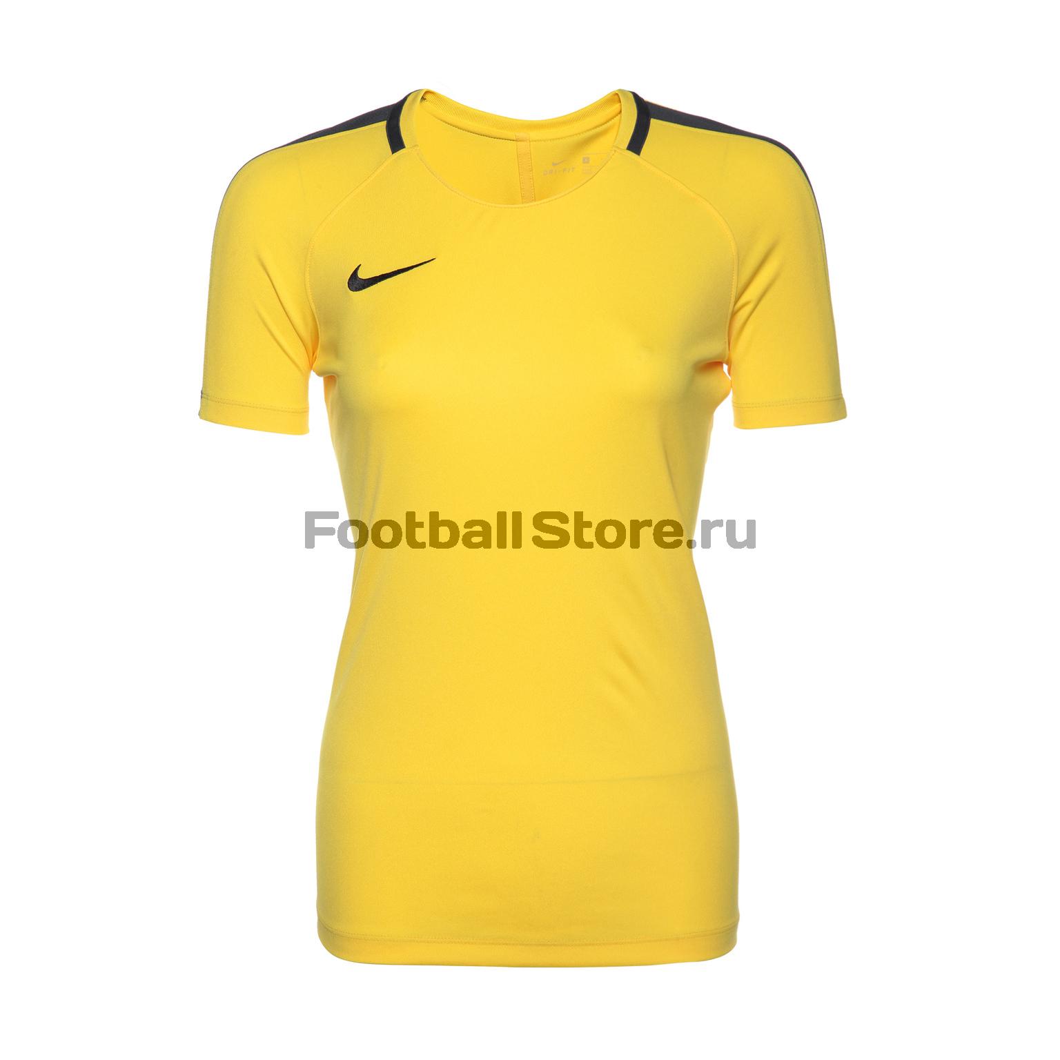 Футболка тренировочная женская Nike Academy 893741-719 футболка тренировочная женская nike academy 893741 361