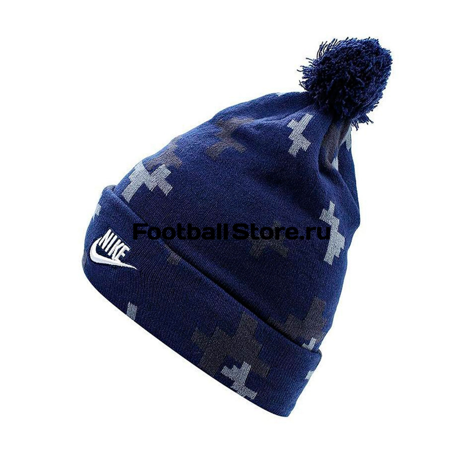 Головные уборы Nike Шапка Nike Seasonal Beanie Blue 878115-429 шапка canada goose 5292l 717