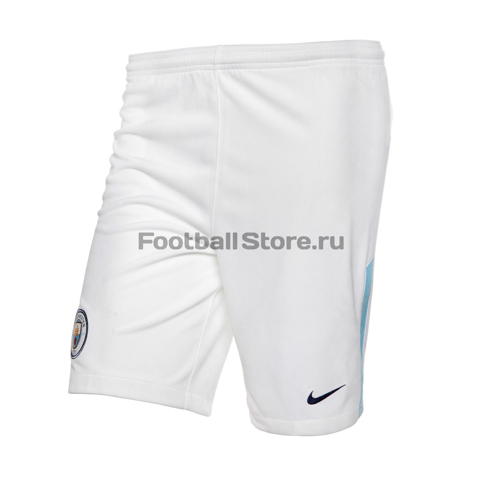 Клубная продукция Nike Шорты игровые детские Nike Manchester City Stadium Short 847405-100