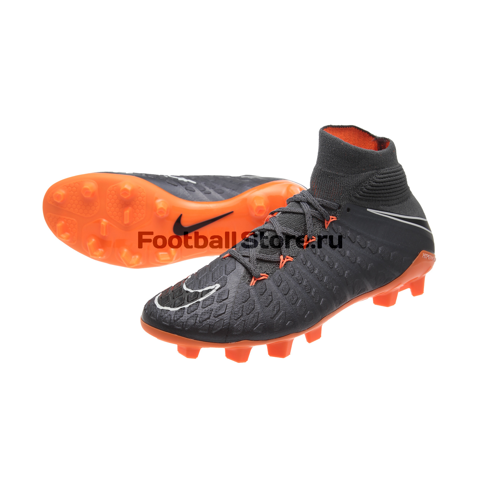 Бутсы Nike JR Phantom 3 Elite DF FG AH7292-081 бутсы nike hypervenom phantom iii club fg jrah7290 081