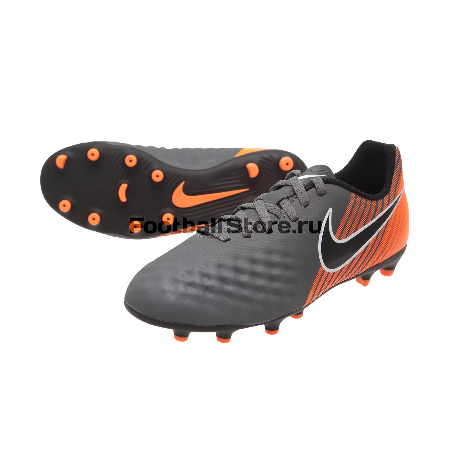 Бутсы Nike JR Obra 2 Club FG AH7314-080 бутсы футбольные nike obra ii elite df fg ah7301 080 sr чер оранж