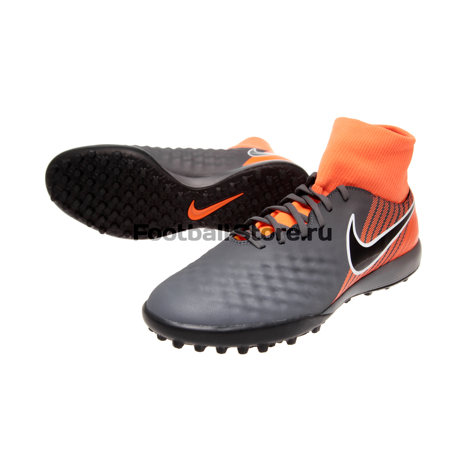 Шиповки Nike ObraX Academy DF TF AH7311-080 бутсы футбольные nike obra ii academy df fg ah7313 080 jr детские т сер оранж