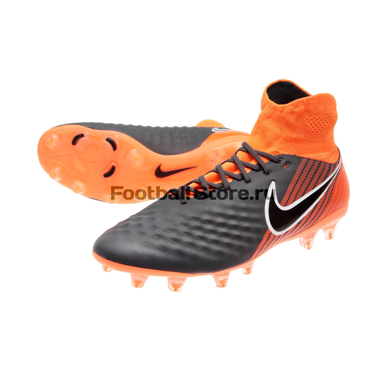 Бутсы Nike Obra 2 Pro DF FG AH7308-080 бутсы футбольные nike obra ii academy df fg ah7313 080 jr детские т сер оранж