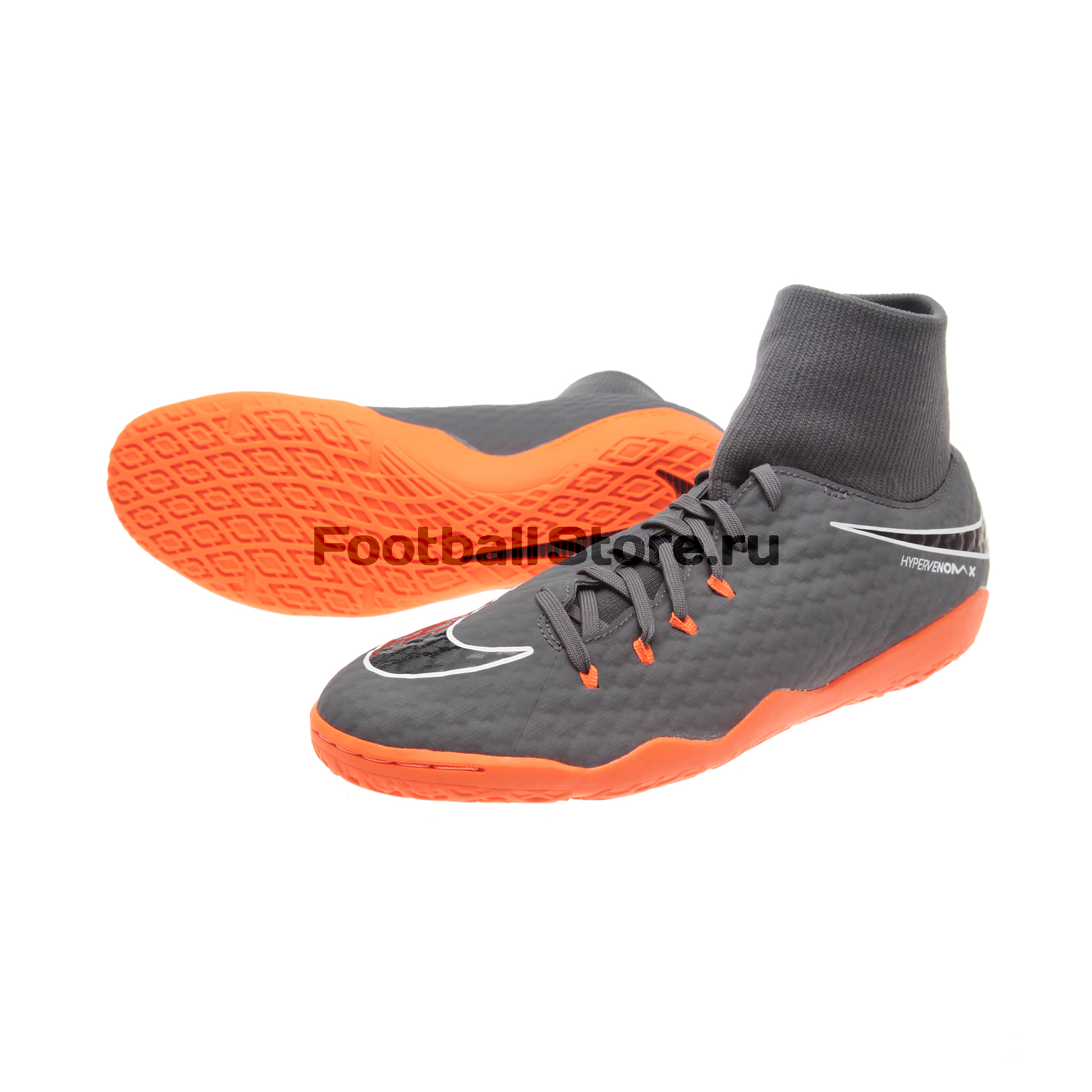 Обувь для зала Nike PhantomX 3 Academy DF IC AH7274-081 бутсы nike phantom 3 pro df fg ah7275 081