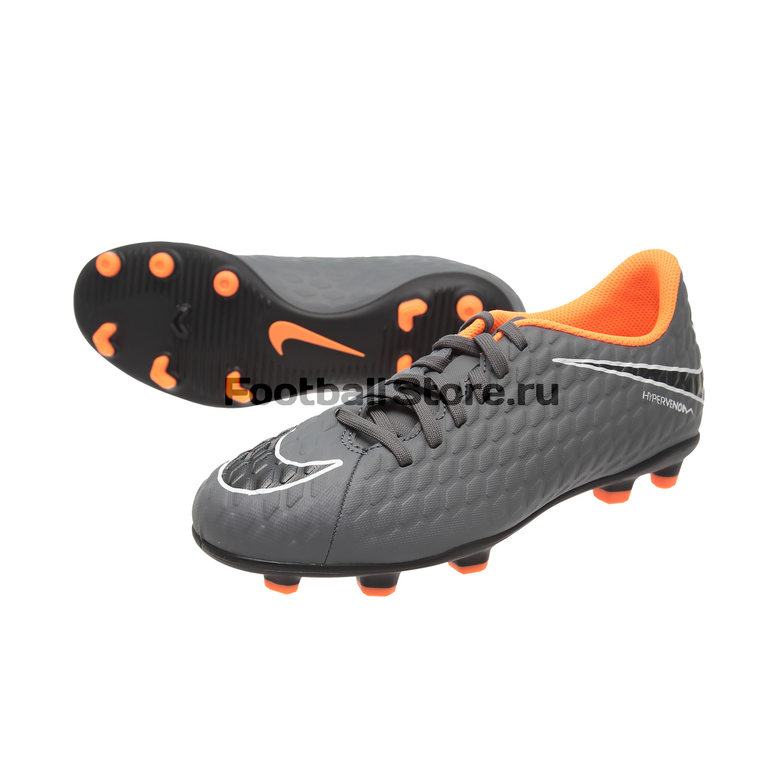 Бутсы Nike JR Phantom 3 Club FG AH7290-081 бутсы nike hypervenom phantom iii club fg jrah7290 081