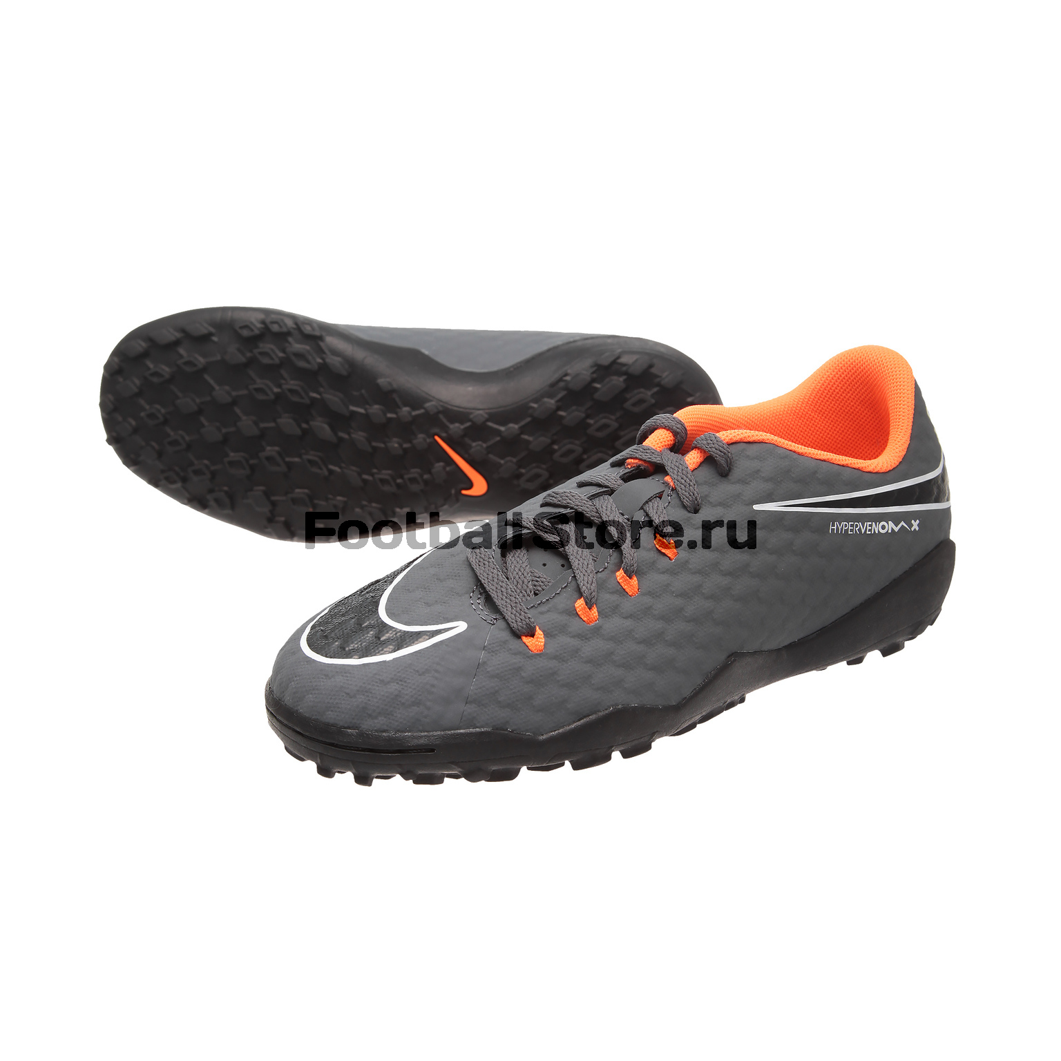 Шиповки Nike JR PhantomX Academy TF AH7294-081 бутсы nike jr superfly 6 academy gs sg pro ah7338 081