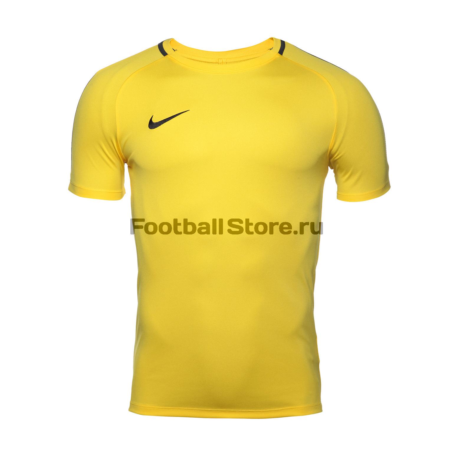 Футболка тренировочная Nike Dry Academy 18 893693-719 цена 2017
