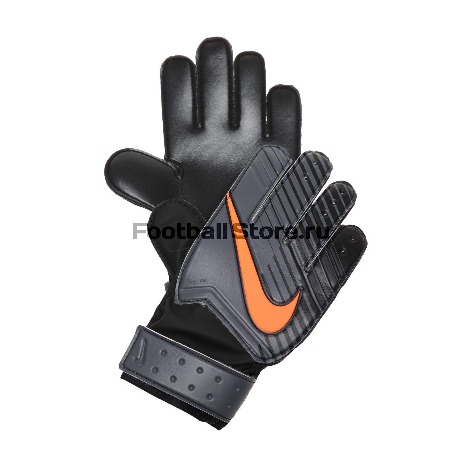 Перчатки вратарские Nike NK GK Match JR GS0343-089 детские бутсы nike бутсы nike jr phantom 3 elite df fg ah7292 081