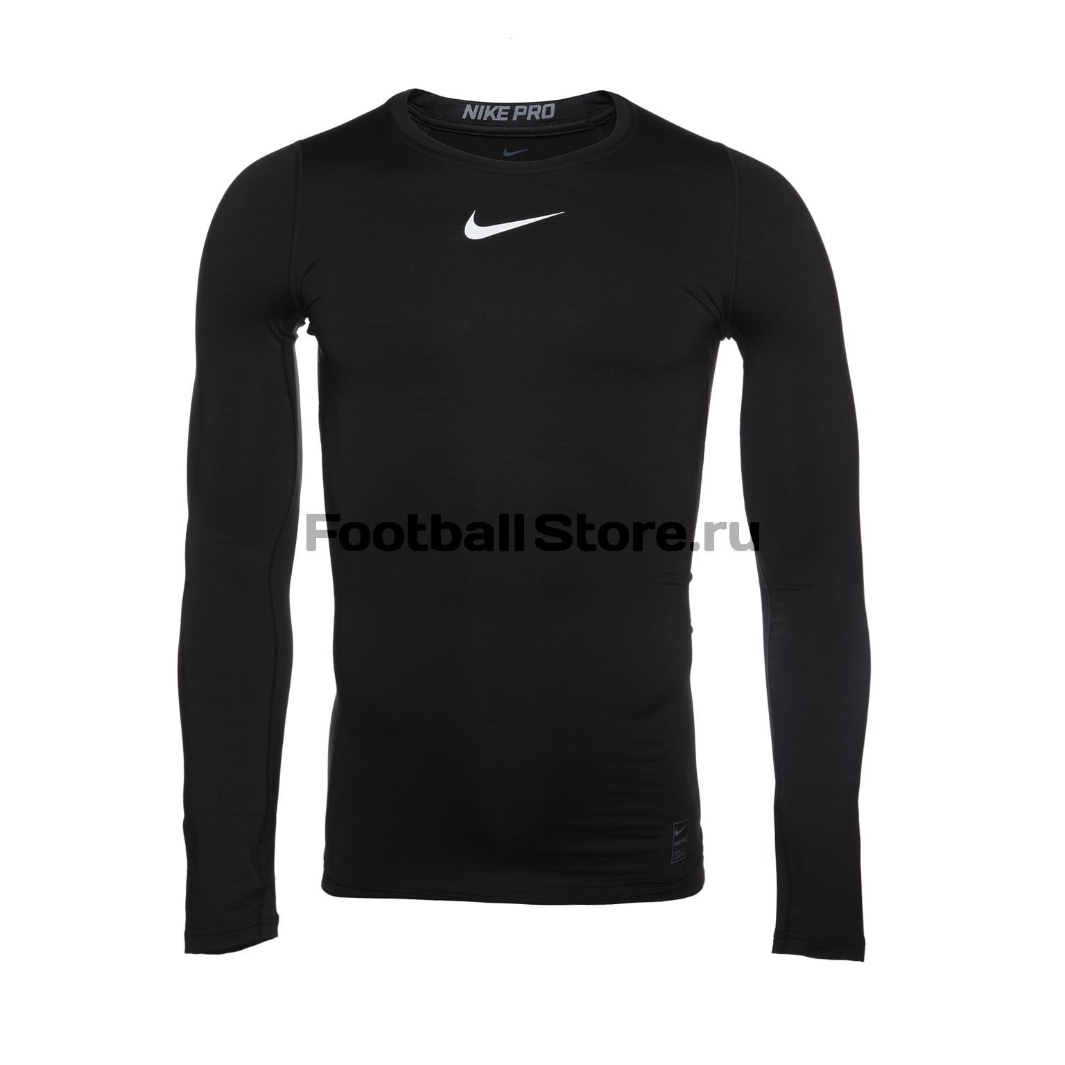 Белье футболка Nike Warm Comp 838044-010 2xu fliserma1982a компрессионная мужская