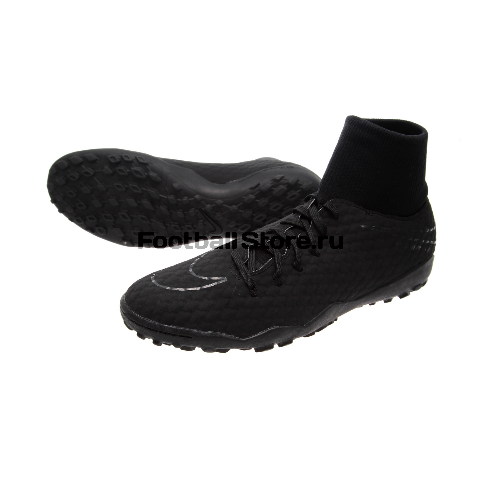 Шиповки Nike HypervenomX Phelon 3 DF TF 917769-001 детские бутсы nike бутсы nike jr phantom 3 elite df fg ah7292 081