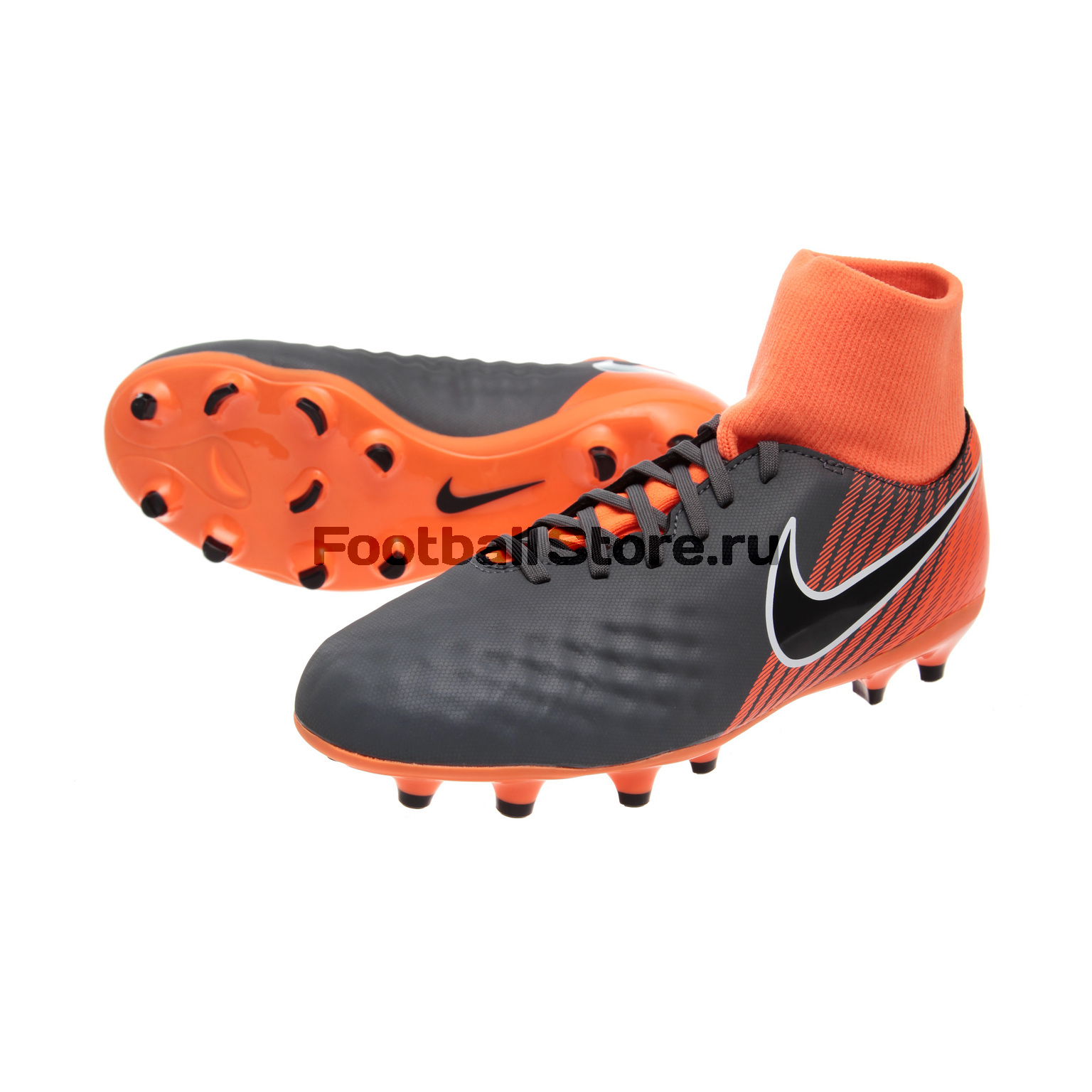 Бутсы Nike JR Obra 2 Academy DF FG AH7313-080 бутсы nike superfly academy gs cr7 jr fg mg aj3111 390