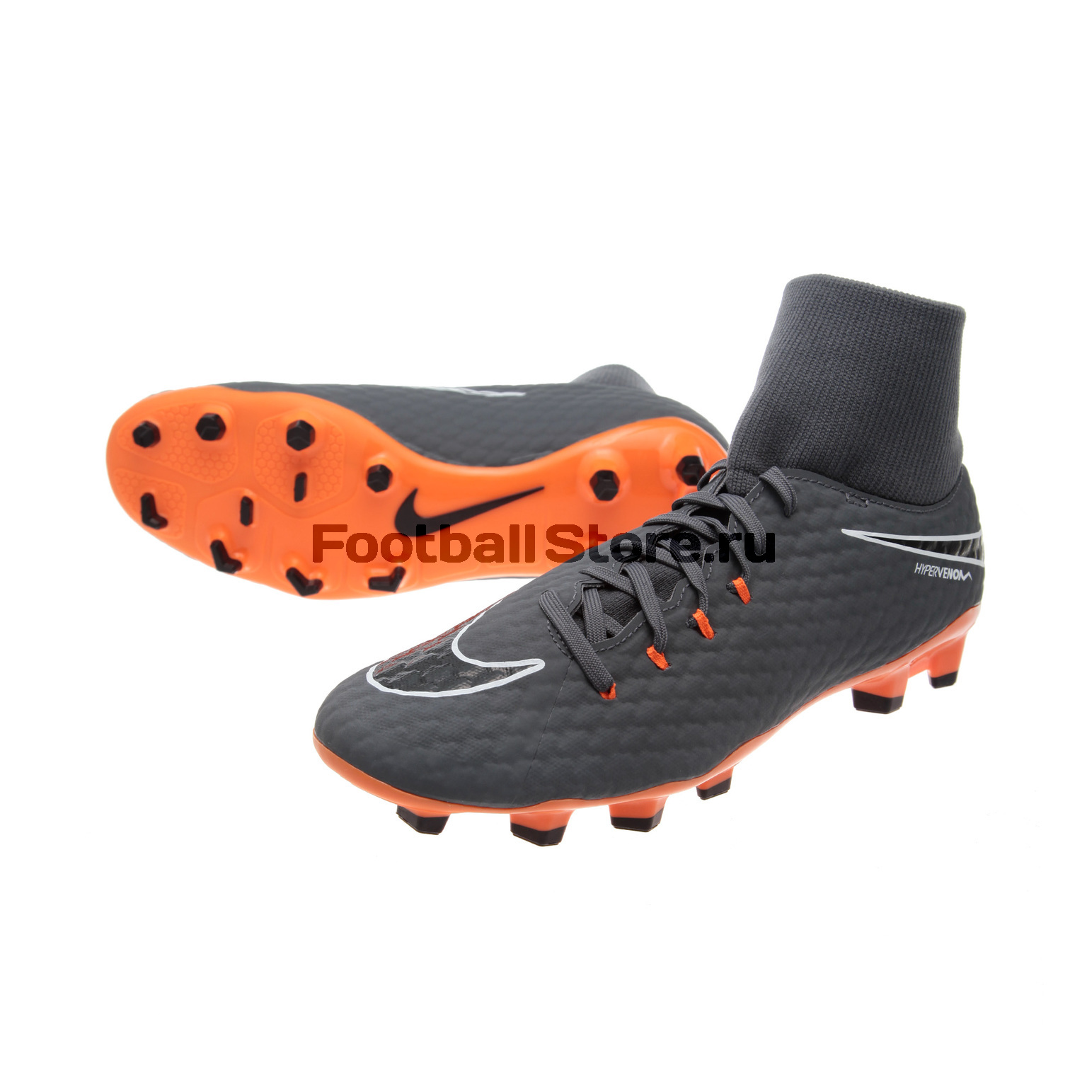Бутсы Nike Phantom 3 Academy DF FG AH7268-081 бутсы nike шиповки nike jr tiempox legend vi tf 819191 018
