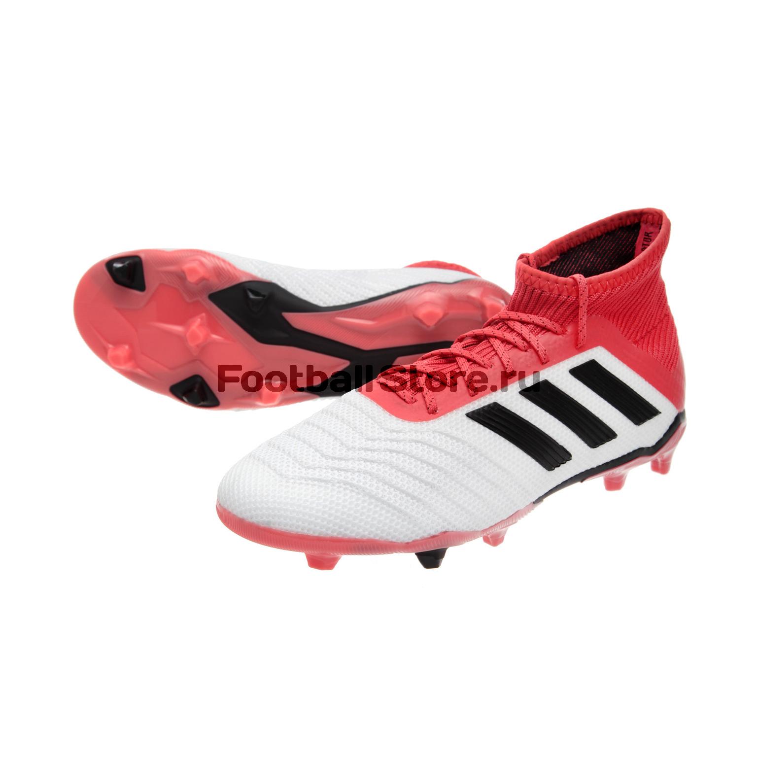 Бутсы Adidas Predator 18.1 FG JR CP8873 adidas predator junior gk glove