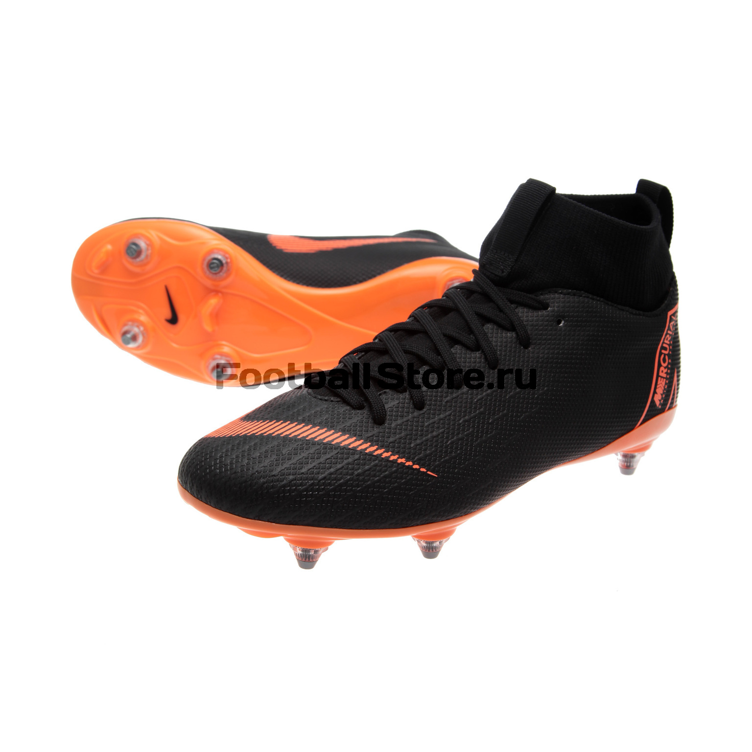 Бутсы Nike JR Superfly 6 Academy GS SG-Pro AH7338-081 детские бутсы nike бутсы nike jr phantom 3 elite df fg ah7292 081
