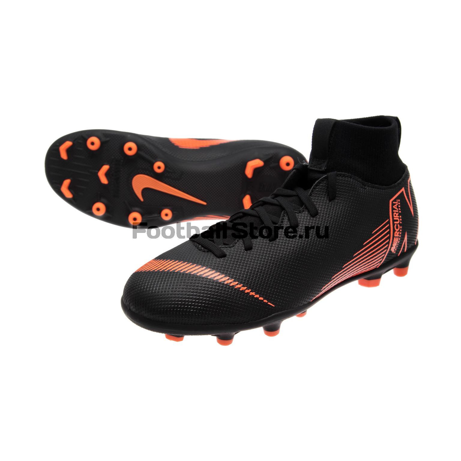 Бутсы Nike JR Superfly 6 Club FG/MG AH7339-081 бутсы nike шиповки nike jr tiempox legend vi tf 819191 018