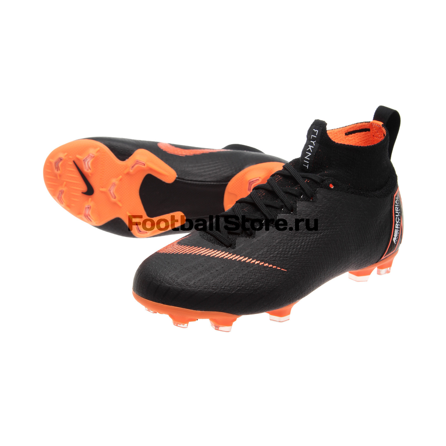 Бутсы Nike JR Superfly 6 Elite FG AH7340-081 детские бутсы nike бутсы nike jr phantom 3 elite df fg ah7292 081
