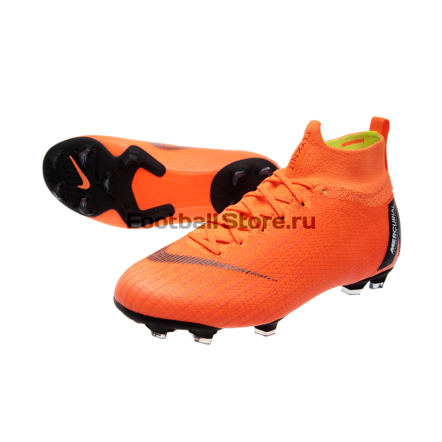 Бутсы Nike JR Superfly 6 Elite FG AH7340-810 чулок д щитков nike guard lock elite sleeve su12 se0173 011 m чёрный