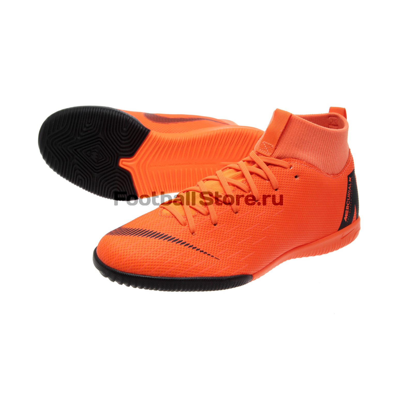 Обувь для зала Nike JR SuperflyX 6 Academy GS IC AH7343-810 бутсы nike superfly academy gs cr7 jr fg mg aj3111 390