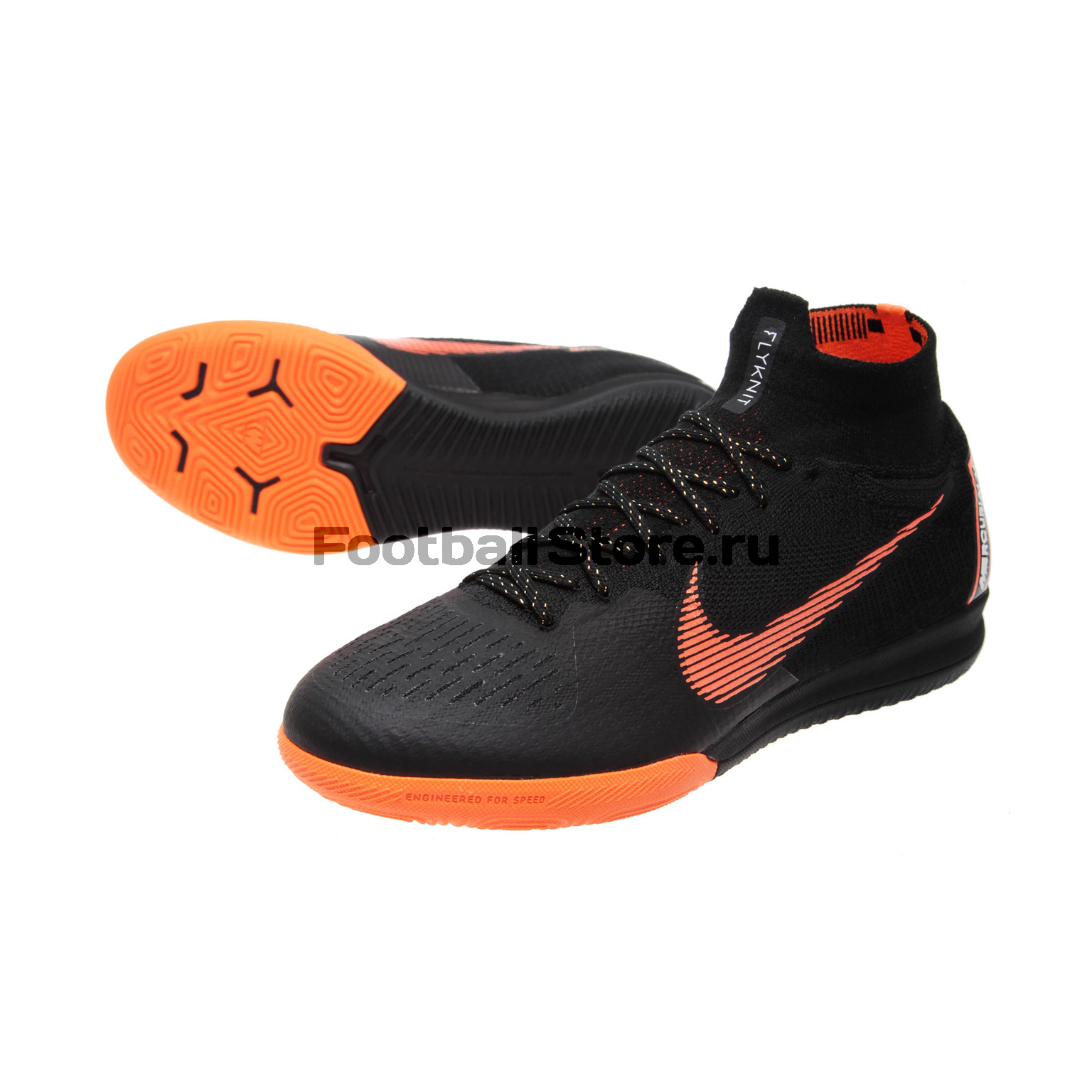 Обувь для зала Nike SuperflyX 6 Elite IC AH7373-081 чулок д щитков nike guard lock elite sleeve su12 se0173 011 m чёрный