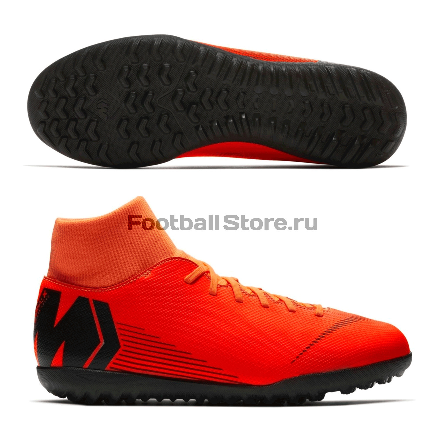 Шиповки Nike SuperflyX 6 Club TF AH7372-810 nike бутсы для мальчиков nike phantomx 3 club tf