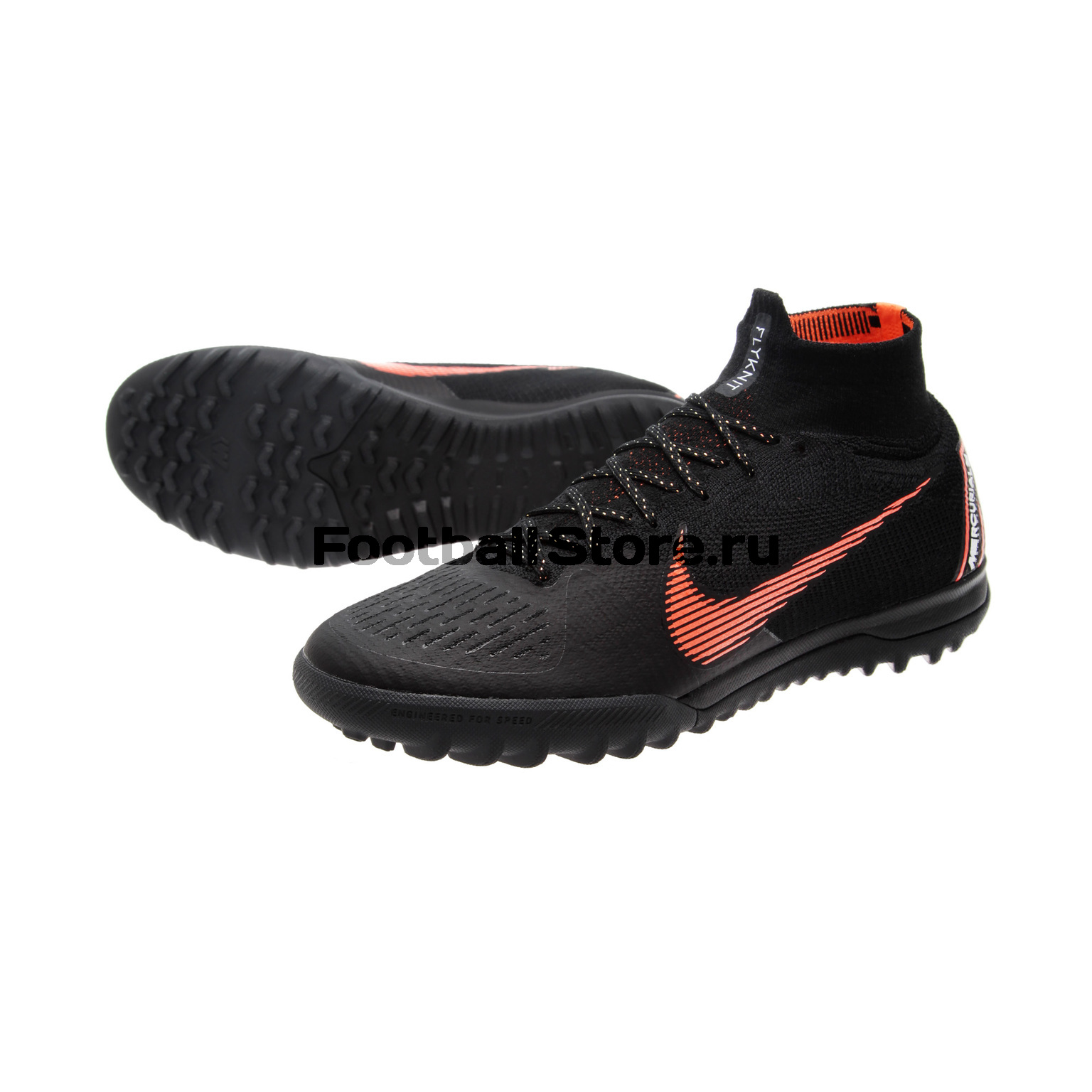 Шиповки Nike Superfly X 6 Elite TF AH7374-081 чулок д щитков nike guard lock elite sleeve su12 se0173 011 m чёрный