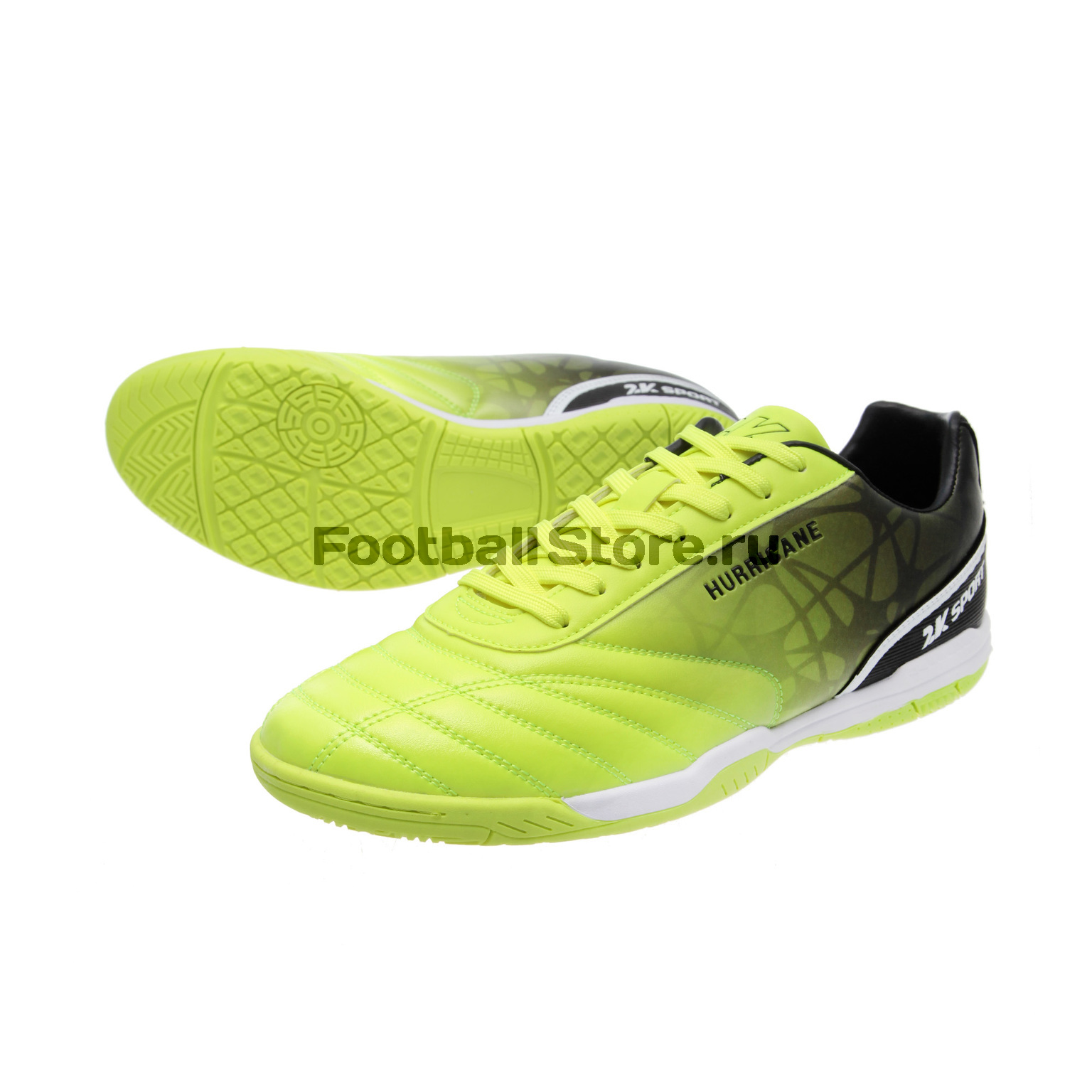 Обувь для зала 2K Sport Hurricane IC Lime/Black 125426-010