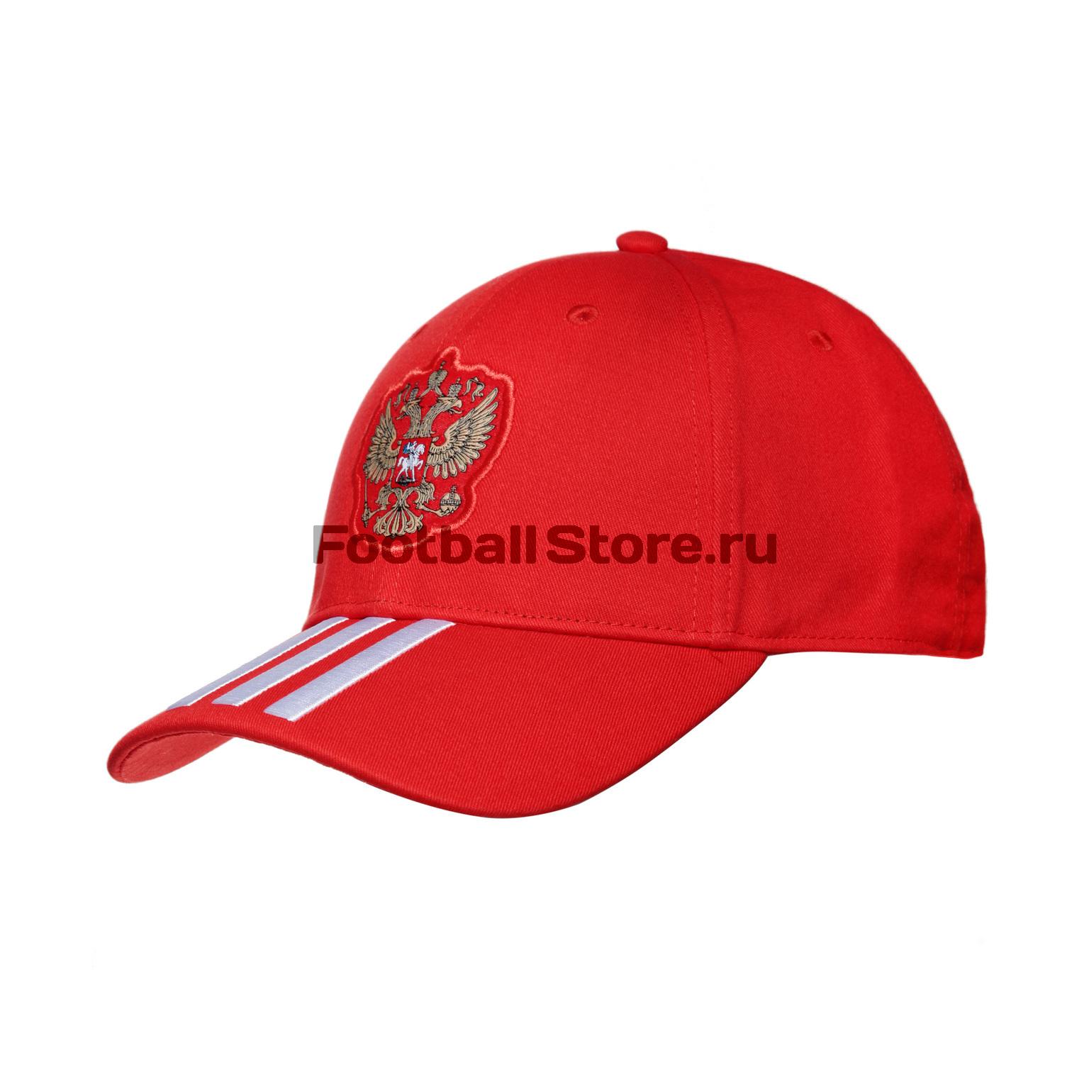Бейсболка Adidas Russia 3S Cap CF4973 adidas adidas russia 3 stripes cap