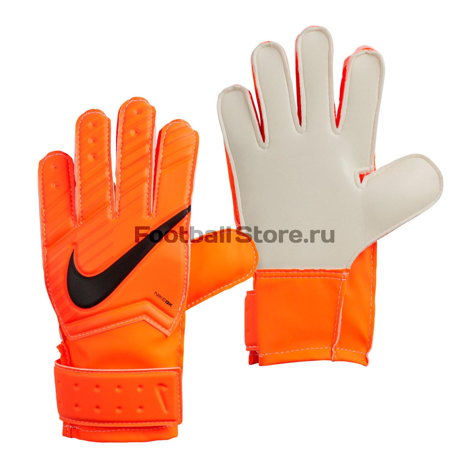Перчатки вратарские Nike GK Match JR GS0343-803 детские бутсы nike бутсы nike jr phantom 3 elite df fg ah7292 081