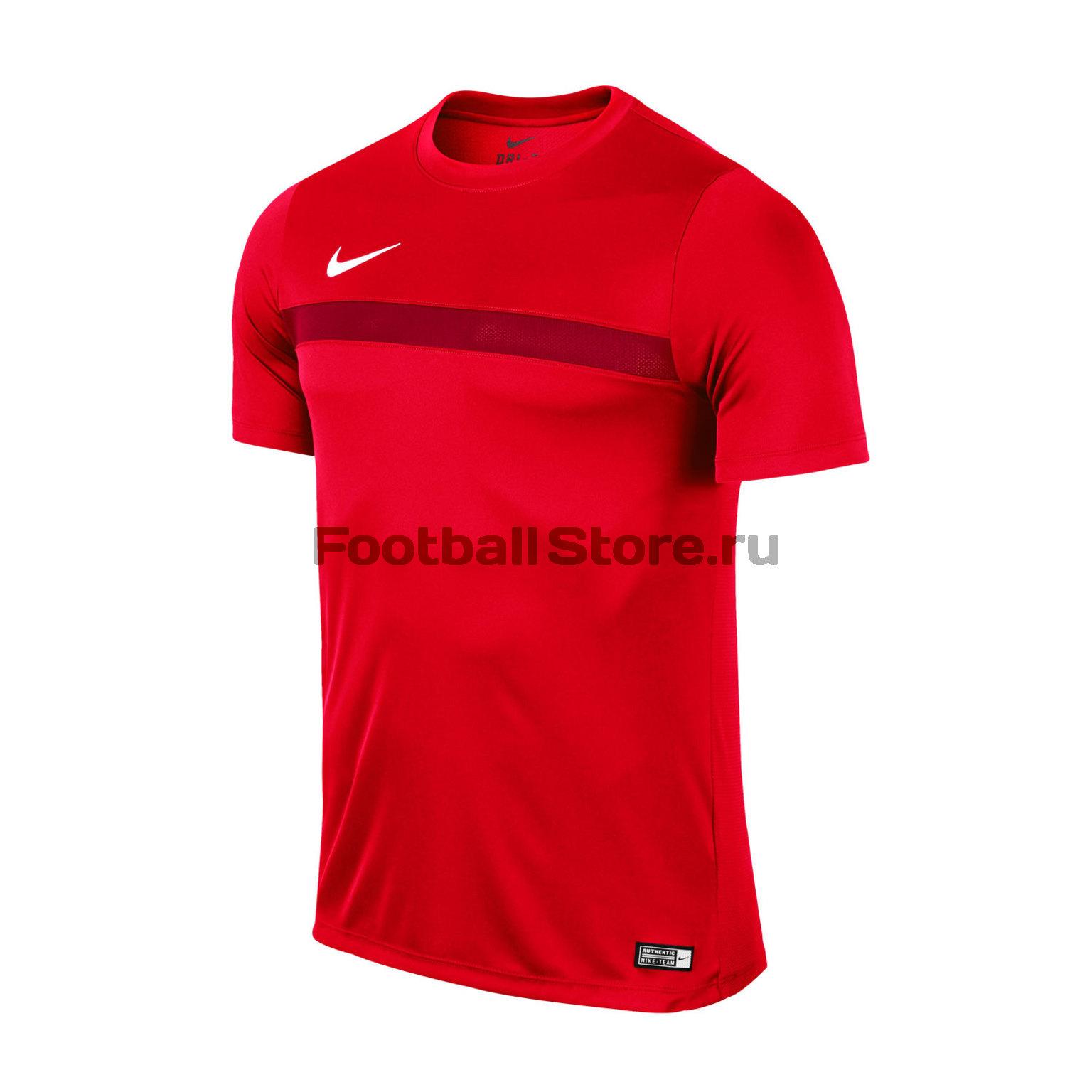Футболка тренировочная Nike Academy 725932-657 футболка тренировочная подростковая nike размер xs