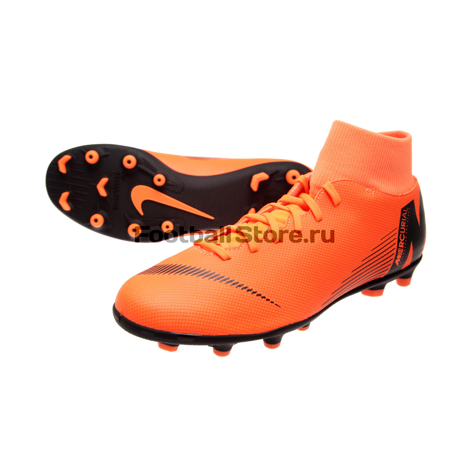 Бутсы Nike SuperFly 6 Club FG/MG AH7363-810 бутсы nike hypervenom phantom iii club fg jrah7290 081