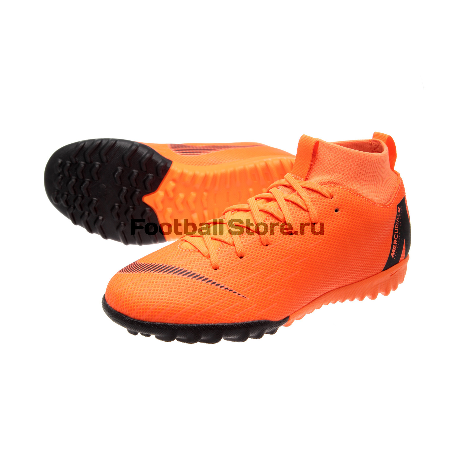 Шиповки Nike JR SuperFly X Academy GS TF AH7344-810 бутсы nike superfly academy gs cr7 jr fg mg aj3111 390