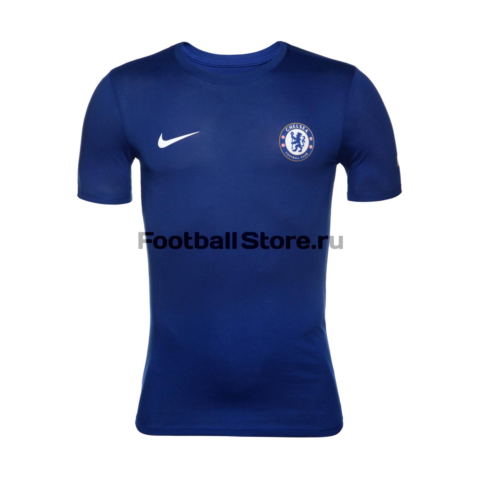 Chelsea Nike Футболка Nike Chelsea Tee Crest 921760-495 футболка jslv футболка life tee