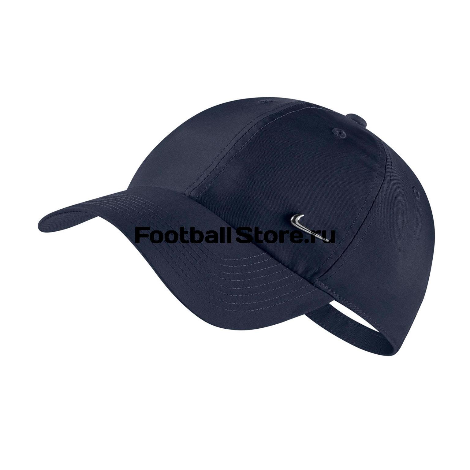 Бейсболка Nike H86 Cap Metal Swoosh 943092-451 цена