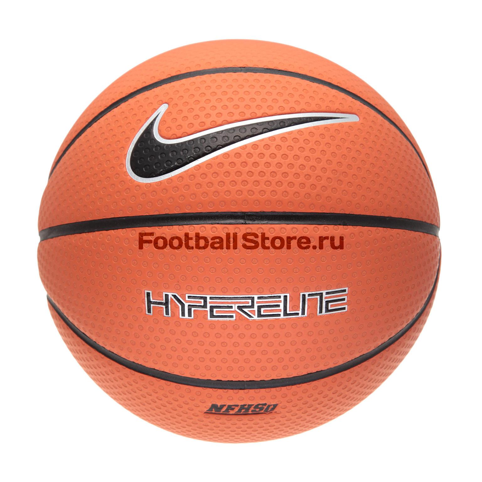 Мяч баскетбольный Nike Hyper Elite 8P 06 N.KL.02.855 чулок д щитков nike guard lock elite sleeve su12 se0173 011 l чёрный