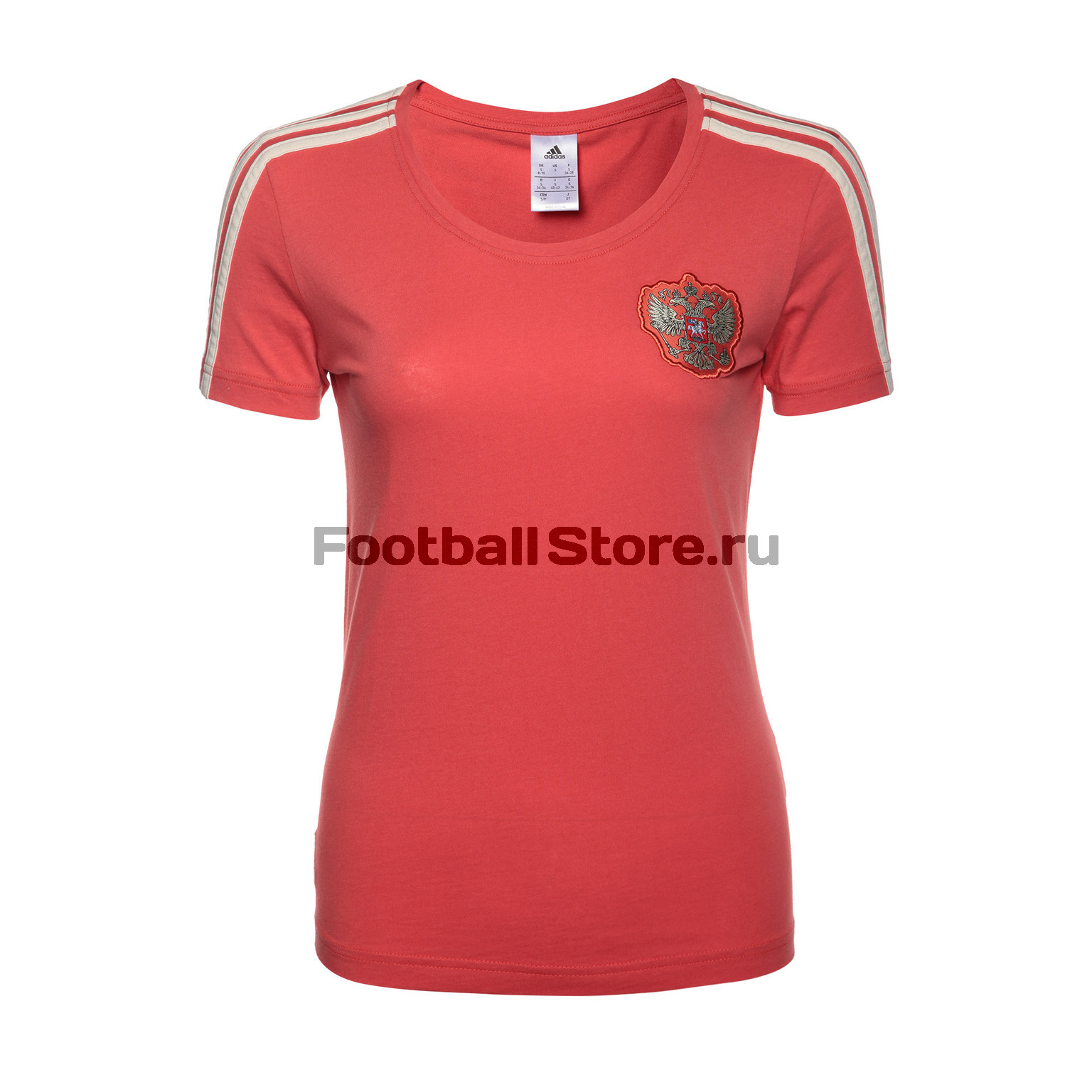Футболка женская Adidas Russia Tee CD5284 levi's® белая футболка с эмблемой the perfect tee