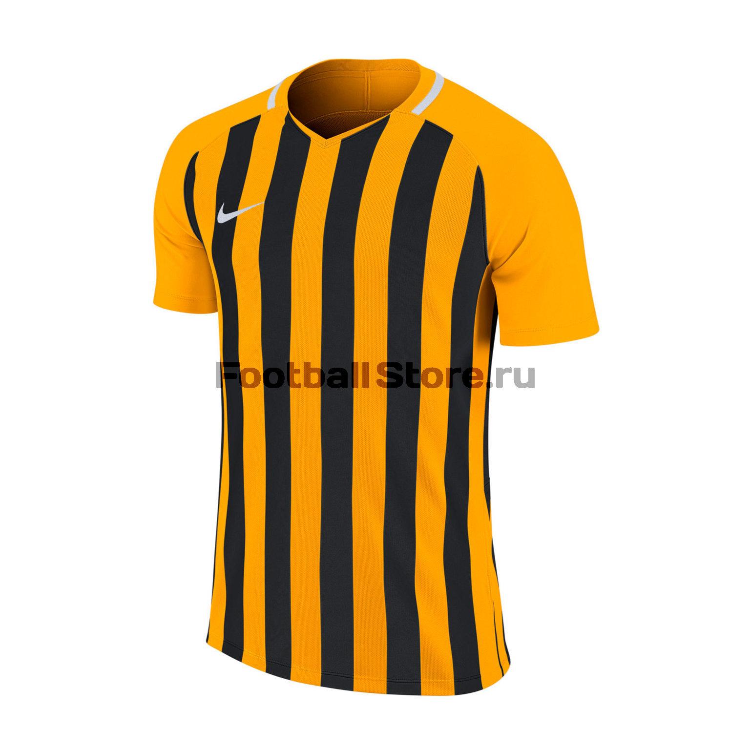 Футболка подростковая Футболка Nike SS Striped Division JSY 894102-739 striped longline tshirt
