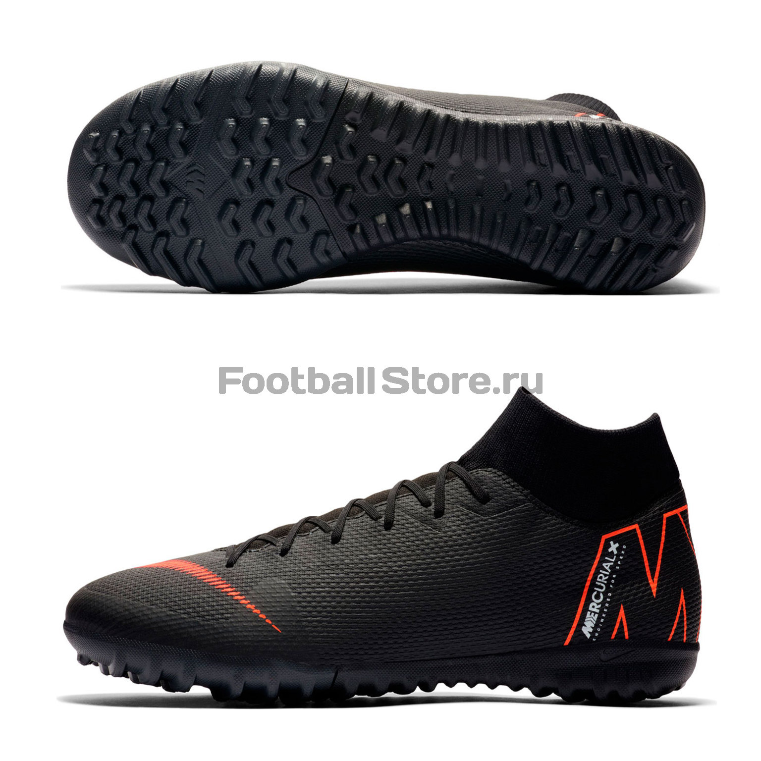 Шиповки Nike SuperFly X 6 Academy TF AH7370-081 бутсы nike phantom 3 academy ag pro ah8845 081